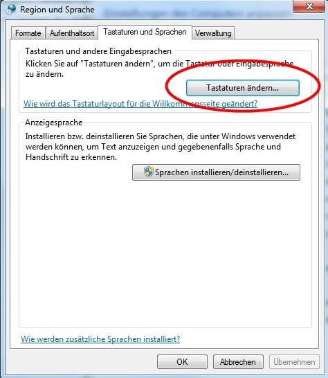 eingabetastatur windows 10