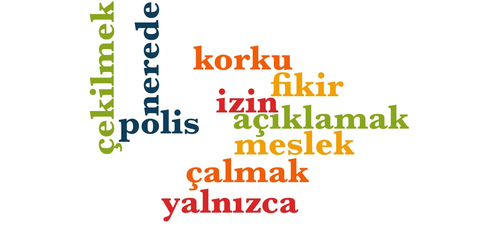 Wörter 561 bis 570 der 1000 häufigsten Wörter der türkischen Sprache