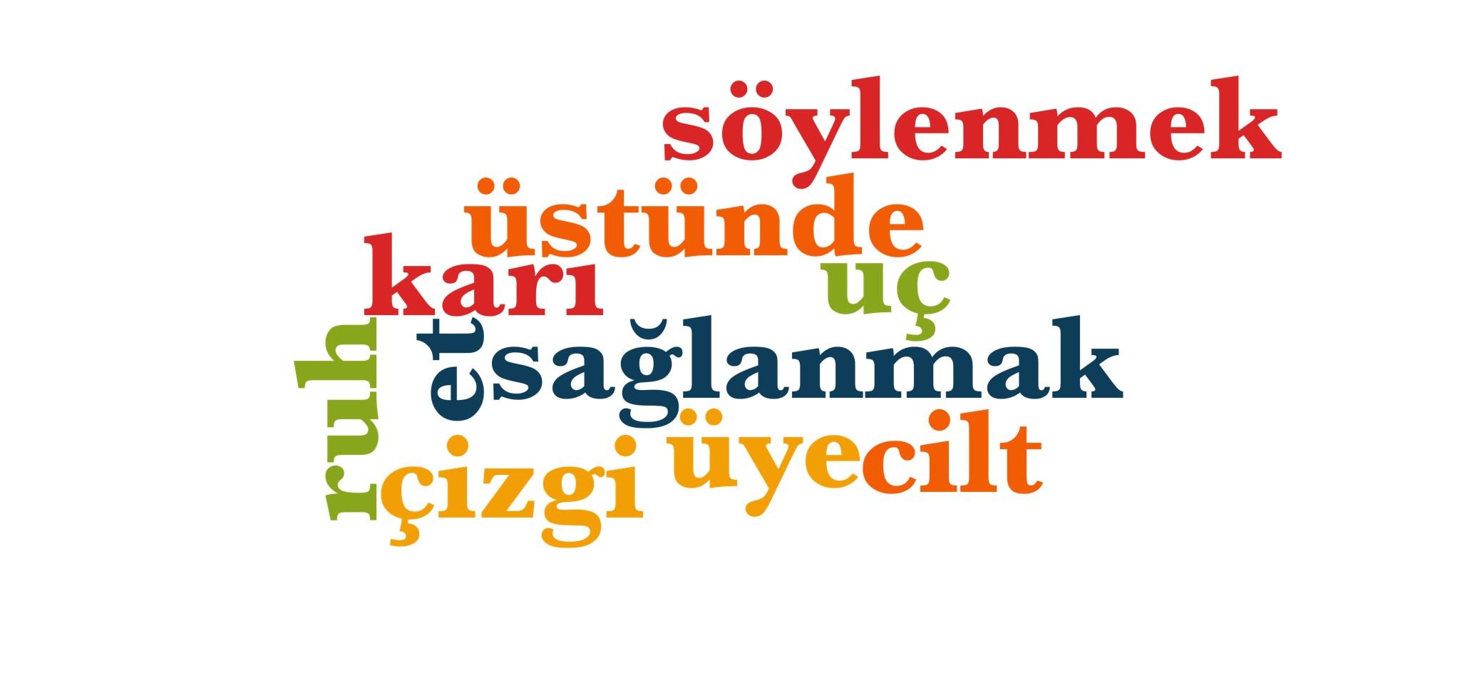 Wörter 621 bis 630 der 1000 häufigsten Wörter der türkischen Sprache