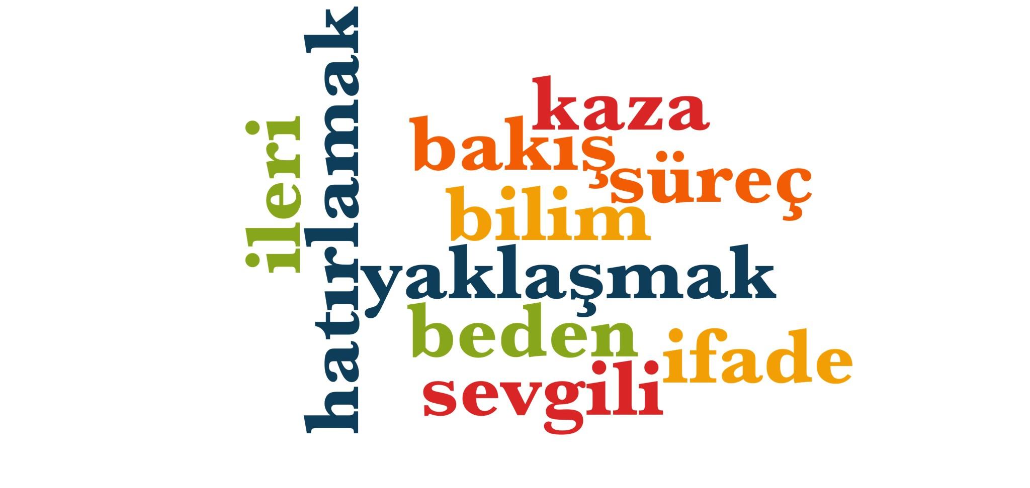 Wörter 631 bis 640 der 1000 häufigsten Wörter der türkischen Sprache