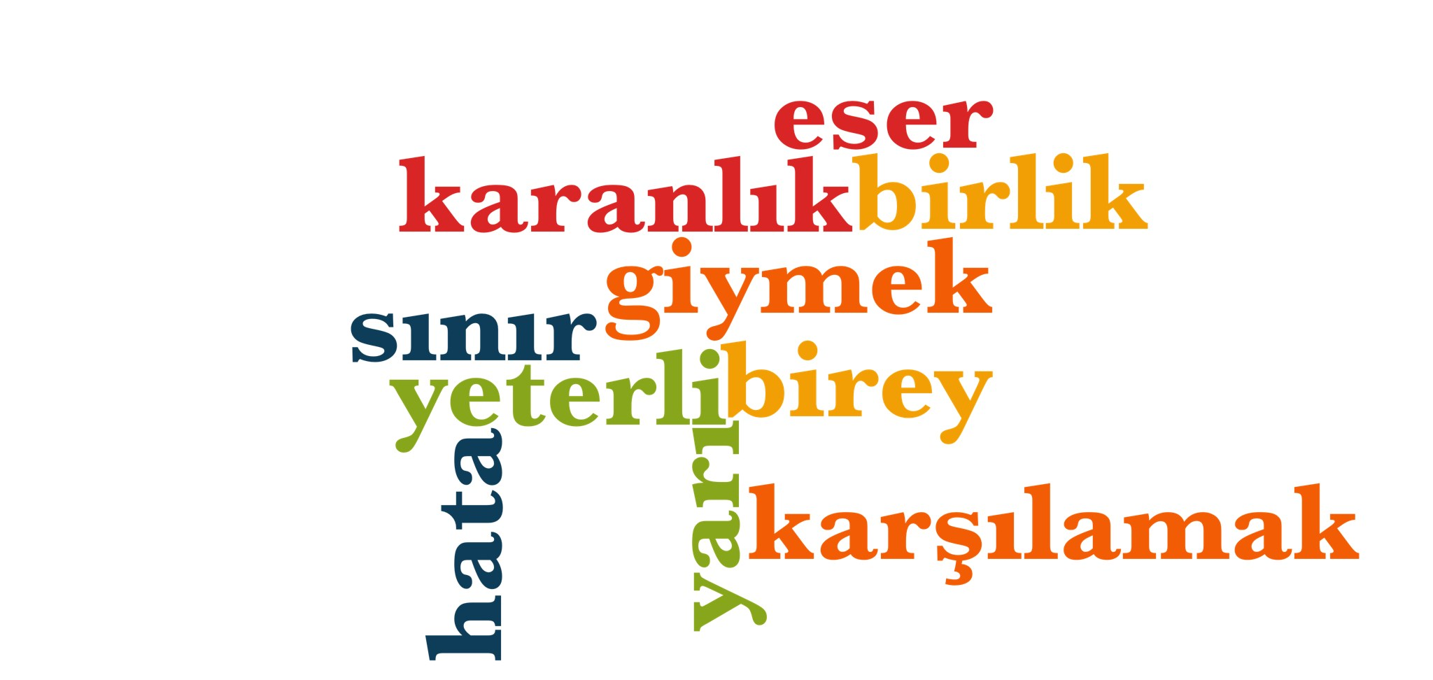 Wörter 751 bis 760 der 1000 häufigsten Wörter der türkischen Sprache