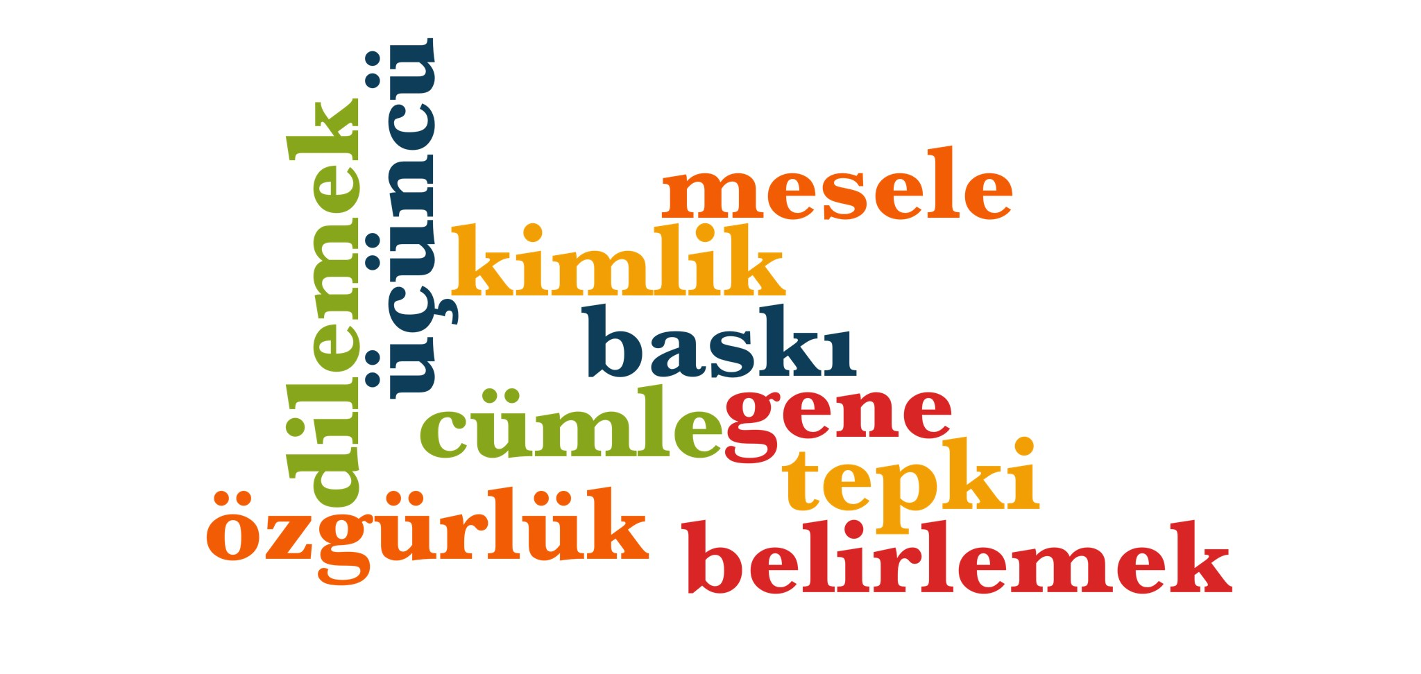 Wörter 801 bis 810 der 1000 häufigsten Wörter der türkischen Sprache