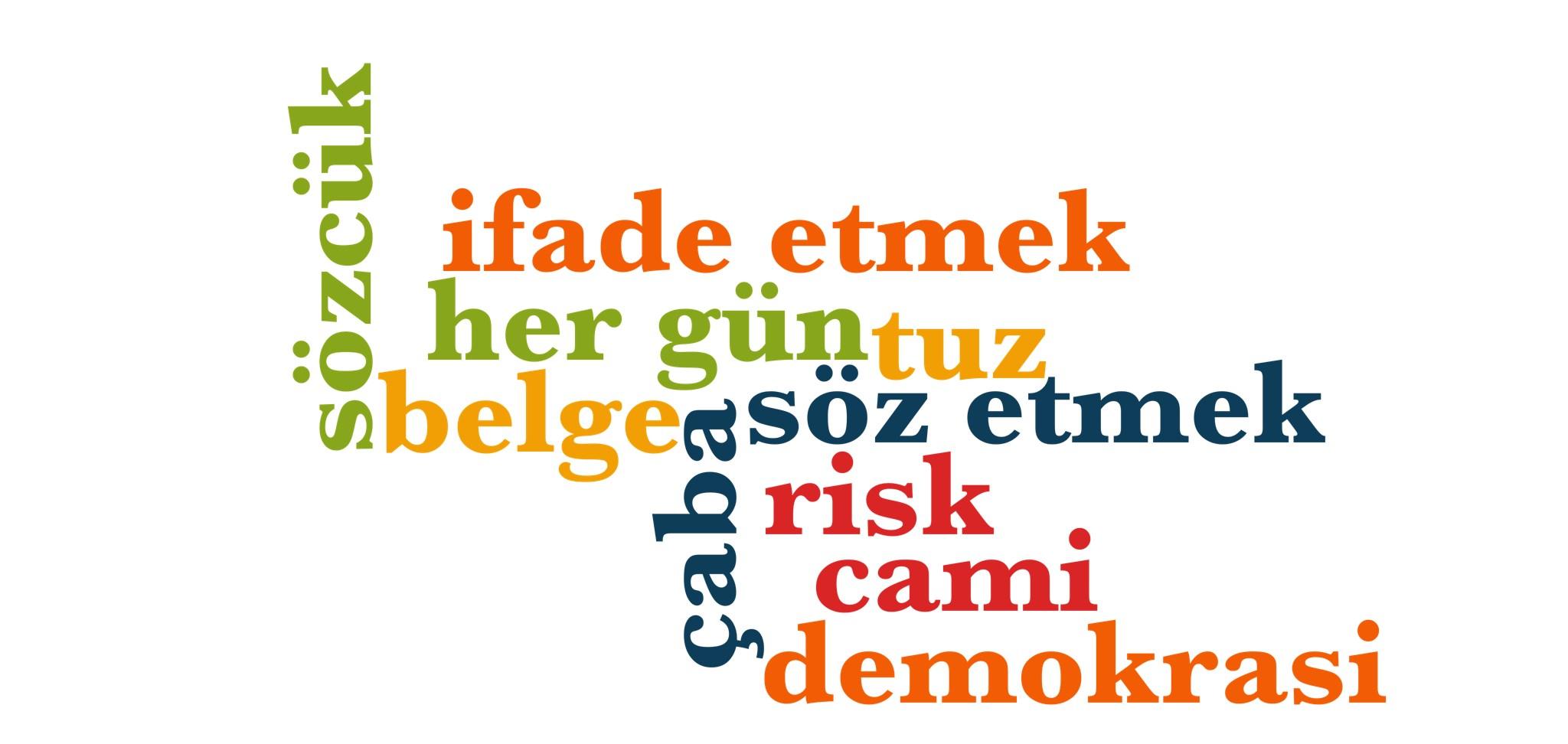 Wörter 861 bis 870 der 1000 häufigsten Wörter der türkischen Sprache