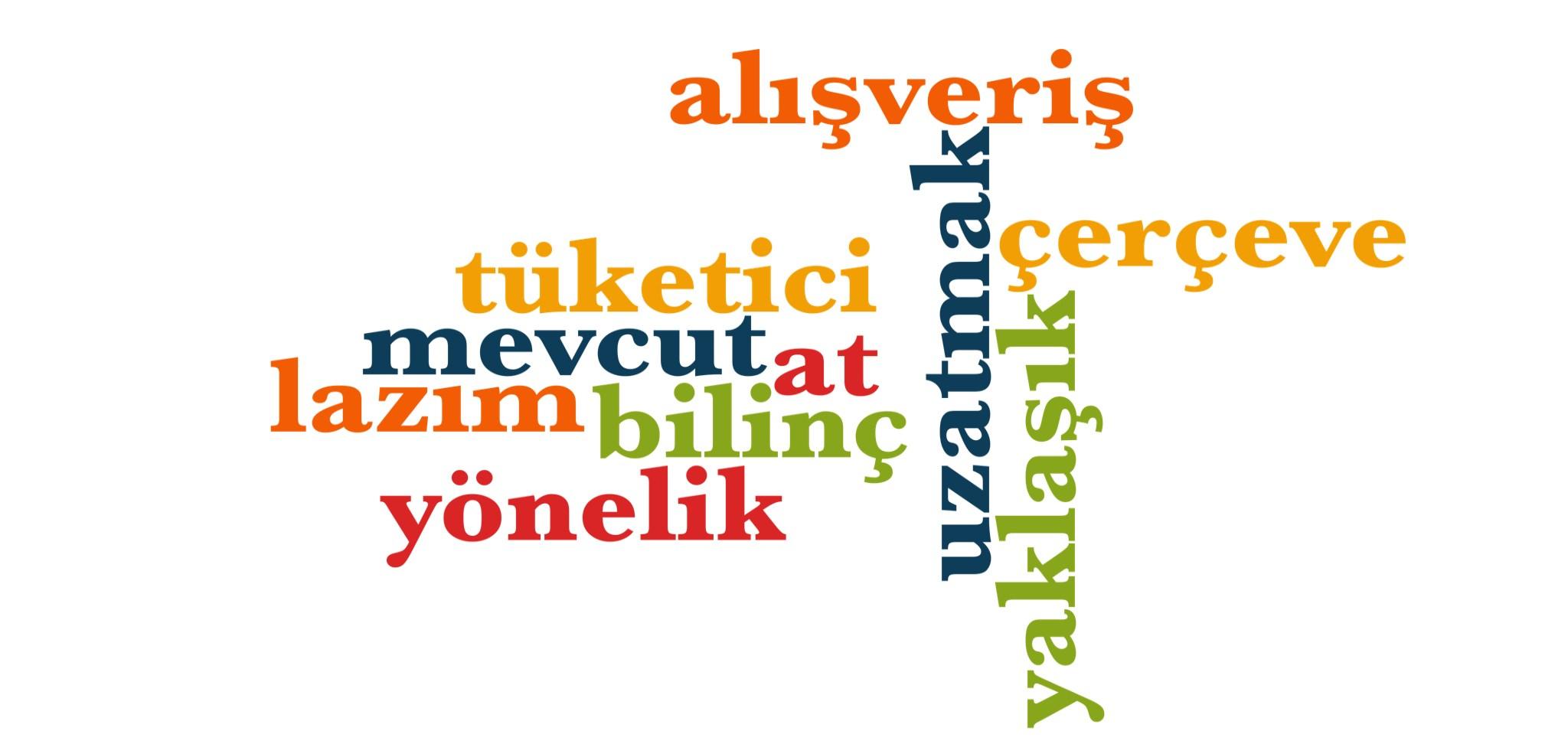 Wörter 921 bis 930 der 1000 häufigsten Wörter der türkischen Sprache
